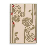 Momeni 'Lil Mo Whimsy 4-Foot x 6-Foot Area Rug in Ivory