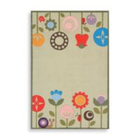 Momeni 'Lil Mo Whimsy 8-Foot x 10-Foot Area Rug in Grass