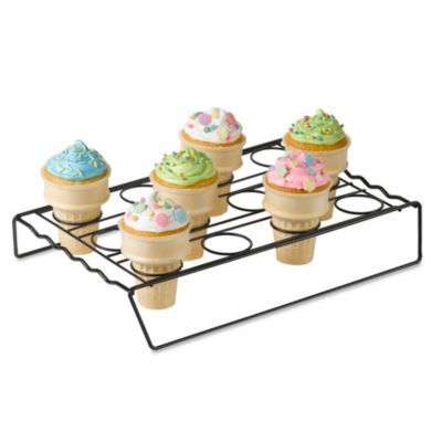 nifty cupcake cone baking rack