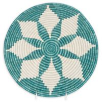 Kazi Hope Bowl 12-Inch Wall Hanging in Blue