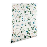 Deny Designs Holli Zollinger Terrazzo 2-Foot x 4-Foot Peel and Stick Wallpaper