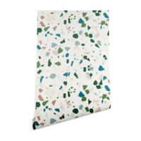 Deny Designs Holli Zollinger Terrazzo 2-Foot x 10-Foot Peel and Stick Wallpaper