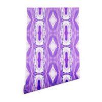Deny Designs Viviana Gonzalez Agate Inspired Purple-Foot x 10-Foot Wallpaper in Beige