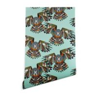 Deny Designs Sharon Turner Night Owl 2-Foot x 4-Foot Wallpaper in Mint