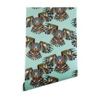 Deny Designs Sharon Turner Night Owl 2-Foot x 10-Foot Wallpaper in Mint