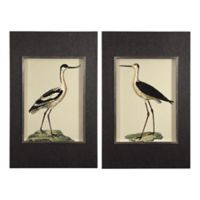 Uttermost Birds on the Shore 28-Inch x 45-Inch Framed Wall Art (Set of 2)
