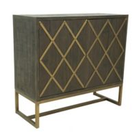 Moe's Home Collection Coltrane Cocktail Cabinet in Brown
