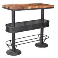 Moe's Home Collection Morrissey Bar Table in Black