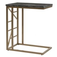 Madison Park Signature Doucet End Table in Bronze