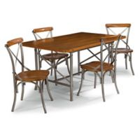Home Styles Orleans 5-Piece Dining Set in Caramel