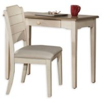 Hillsdale Furniture Clarion Table and Chair Set in White