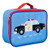 Wildkin Police Car Lunch Box in Blue