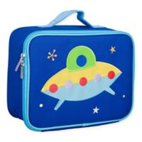 Wildkin Spaceship Lunch Box in Blue