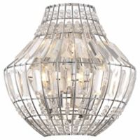 Minka Lavery Braiden 3-Light Wall Sconce in Chrome