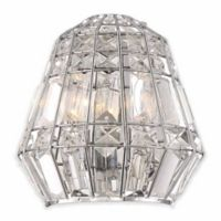 Minka Lavery Braiden 2-Light Wall Sconce in Chrome