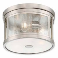 Minka Lavery® Liege 3-Light Pendant in Brushed Nickel