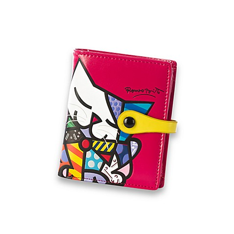 Britto™ by Giftcraft Cat Bi-Fold Wallet