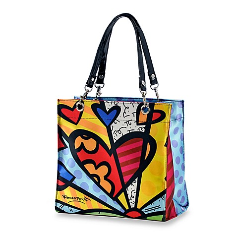 Britto™ by Giftcraft A New Day Heart Tote Bag in Small