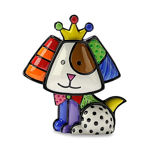 Britto™ by Giftcraft Royalty Dog Miniature Figurine