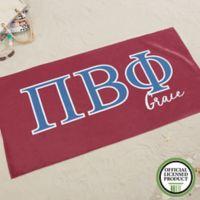 Pi Beta Phi Beach Towel
