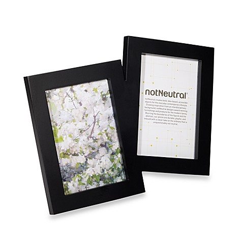 notNeutral® Sidekick 2-Opening Frame in Black