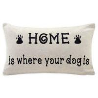Danya B.™ Dog Lover Oblong Throw Pillow in Ivory