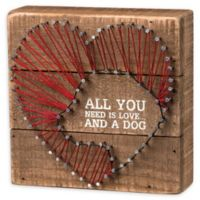 """Primitives by Kathy® """"And A Dog"""" Box Sign"""