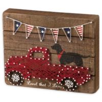 Primitives by Kathy® That I Love 6-Inch x 10-Inch Box Sign