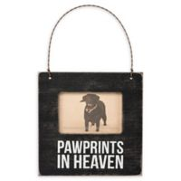 "Primitives by Kathy® ""Pawprints In Heaven"" Mini 3-Inch x 2-Inch Picture Frame"