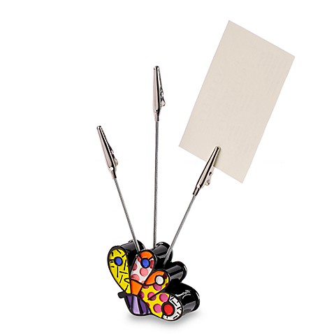 Britto™ by Giftcraft Butterfly Name Card Holder