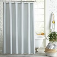 Peri Home Pebble Solid MicrosculptTM Shower Curtain In Grey