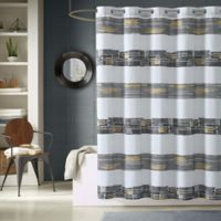 Decker Printed Shower Curtain