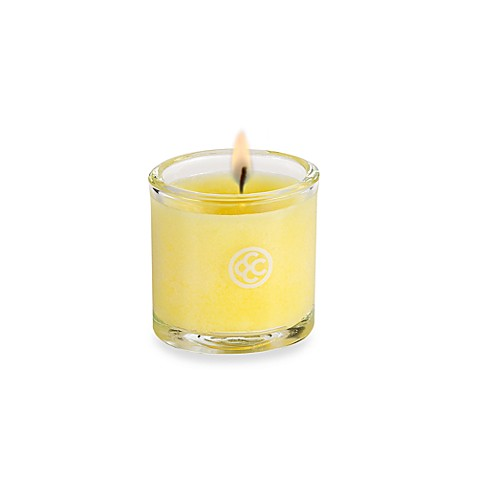 Colonial Candle® Fresh Summer Lemon Scented Candle in 1.8-Ounce Oval Jar Votive