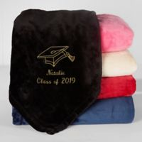 The Graduate Fleece Throw Blanket