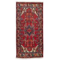 Feizy Rugs Antique Hamedan 4'3 x 6'8 Area Rug in Red/Blue/Ivory