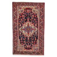 Feizy Rugs One of a Kind Antique Nahavand 4'3 x 7' Area Rug in Red/Blush