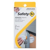 Safety 1st® 2-Pack Adhesive Magnetic Locks with Key