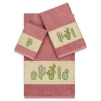 Linum Home Textiles 3-Piece Mila Bath Towel Set in Tea Rose