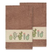 Linum Home Textiles Mila Bath Towels in Latte (Set of 2)