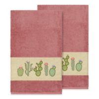 Linum Home Textiles Mila Bath Towels in Tea Rose (Set of 2)