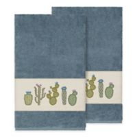Linum Home Textiles Mila Bath Towels in Teal (Set of 2)