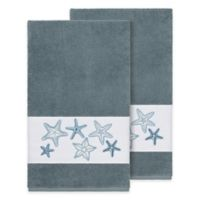 Linum Home Textiles Lydia Bath Towels in Teal (Set of 2)
