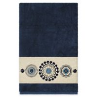 Linum Home Textiles Isabella Bath Towel in Midnight Blue