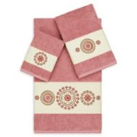 Linum Home Textiles Isabella 3-Piece Bath Towel Set in Tea Rose