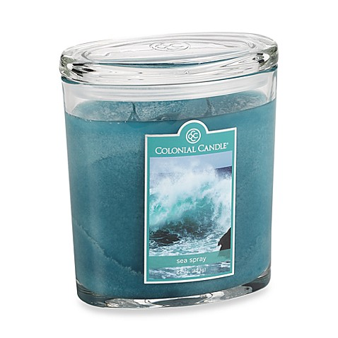 Colonial Candle® Sea Spray Scented Candle in 22-Ounce Oval Jar Candle