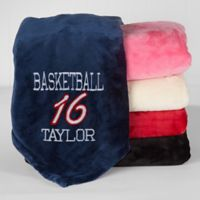 Sports Fleece Throw Blanket