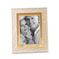 Lenox® 50th Anniversary 5-Inch x 7-Inch Picture Frame