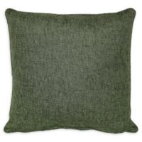 Jasper Square Throw Pillow in Green