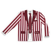 University of South Carolina Men's Medium Striped Faux Suit Long Sleeve T-Shirt