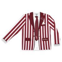 University of South Carolina Men's Extra Large Striped Faux Suit Long Sleeve T-Shirt